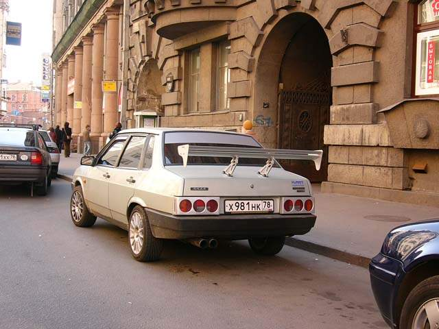 uh.ru Тюнинг русских машин.
