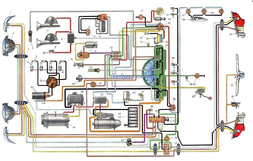 Электросхемы для раритетов