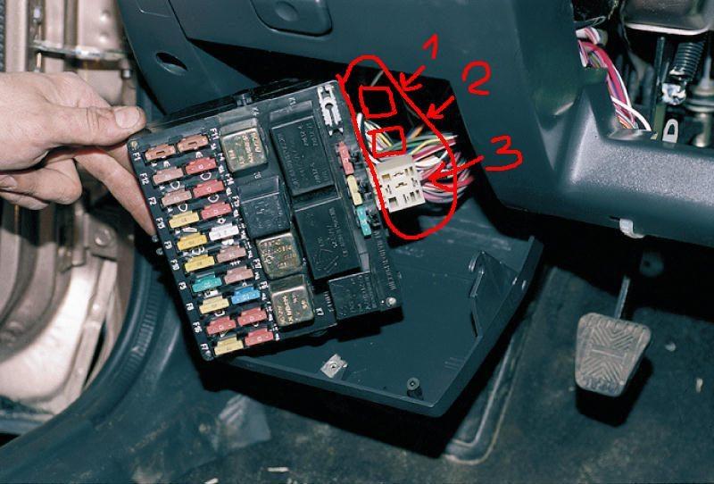 Блок предохранителей - ВАЗ: