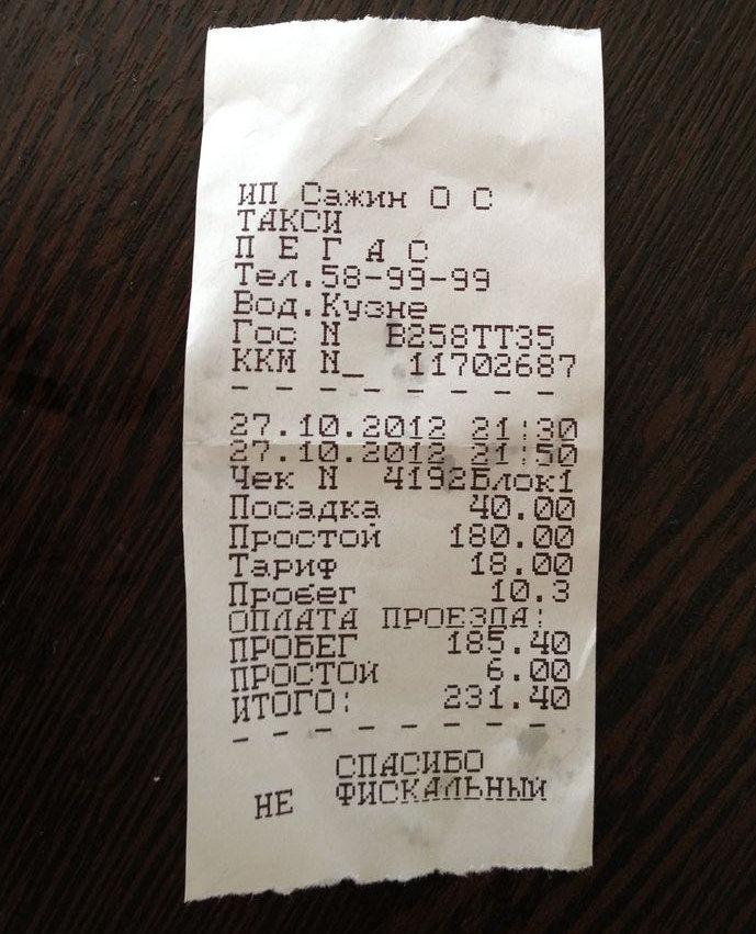 основе какой чек дают в такси об оплате термобелье Мужская