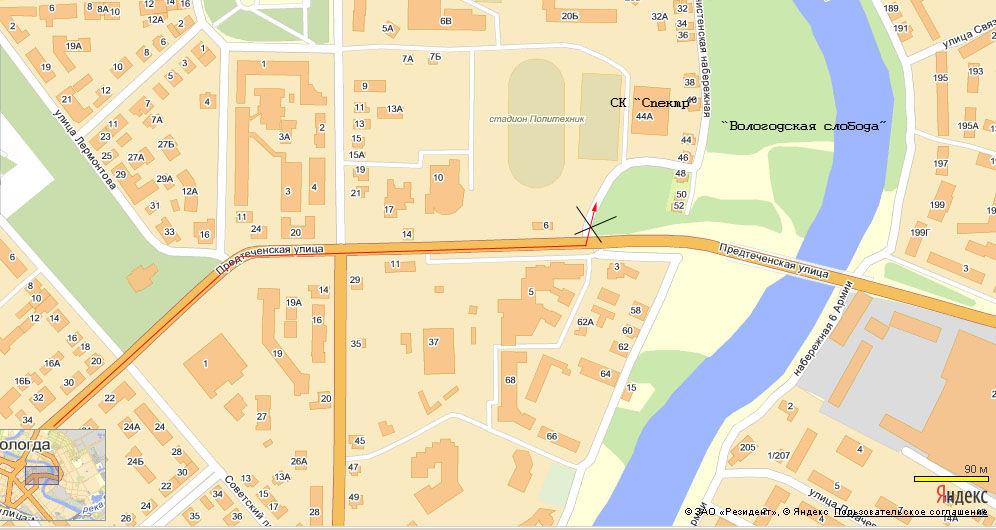 GPS Вологда - карты города и