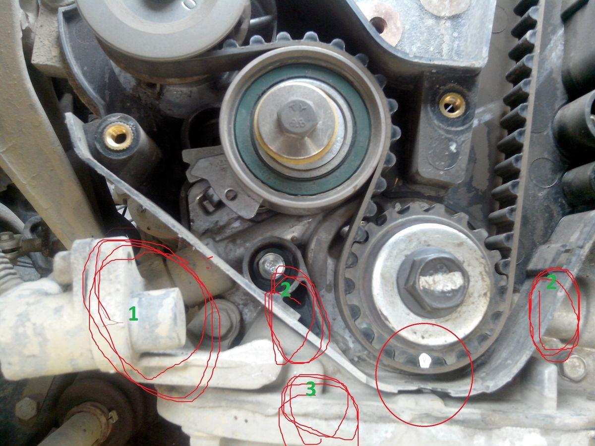 Замена ремня грм на нексии 16 клапанов