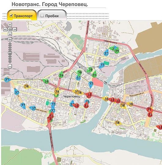 Череповец. Автобусы на карте онлайн | Авто ЧЕРЕПОВЕЦ