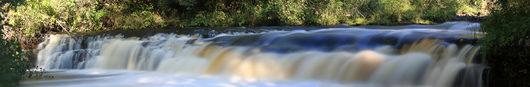 Водопад Падун на реке Тагажма, Вытегорский район | Вологодская область