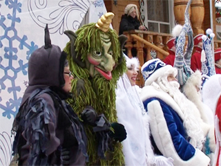 Великий Устюг - вотчина Деда Мороза. Едем на машине | Вологодская область